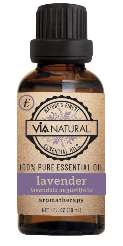 Via Natural®- 100% Essential Oil- Lavender