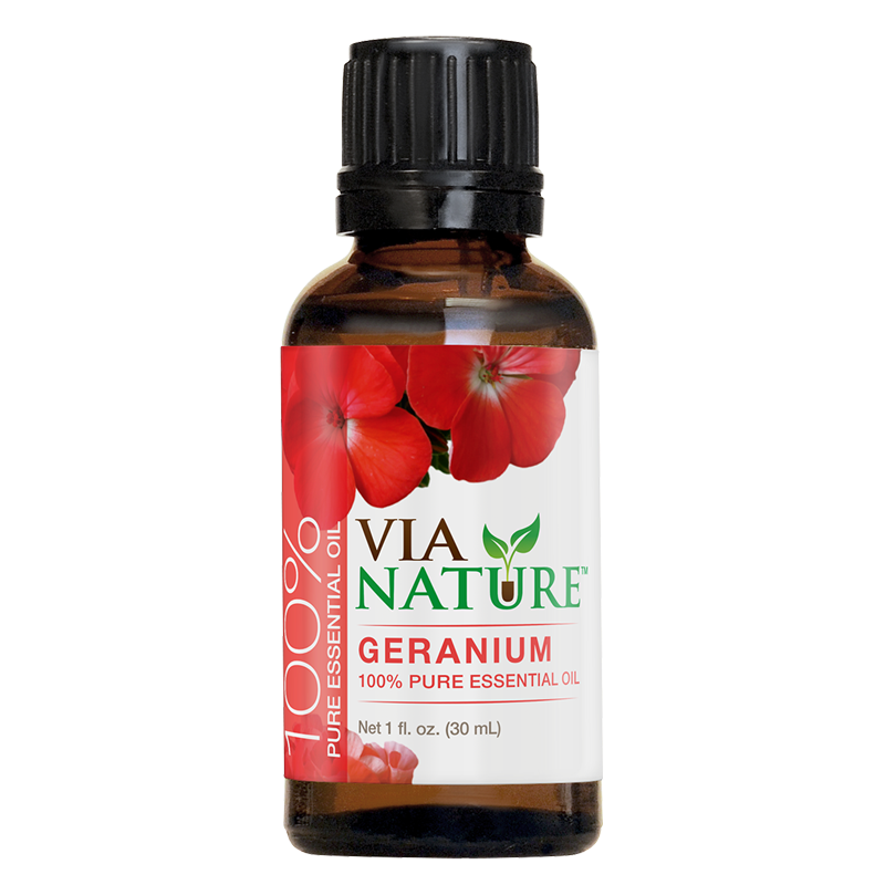Via Nature®- 100% Essential Oil- Geranium