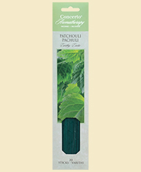 Concerto Aromatherapy - Incense Sticks Patchouli