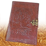 Leather Journal- Tree of Life