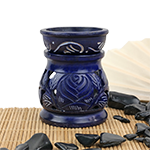 Mother Nature's Soapstone Warmer- Midnight