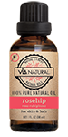 Via Natural®- 100% Pure Natural Oil- Rosehip