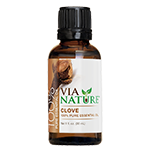 Via Nature®- 100% Essential Oil- Clove