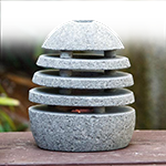 Stone Shade - Candle Holder