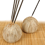 Nature Inspired Holders - Podlet Brown Stripes