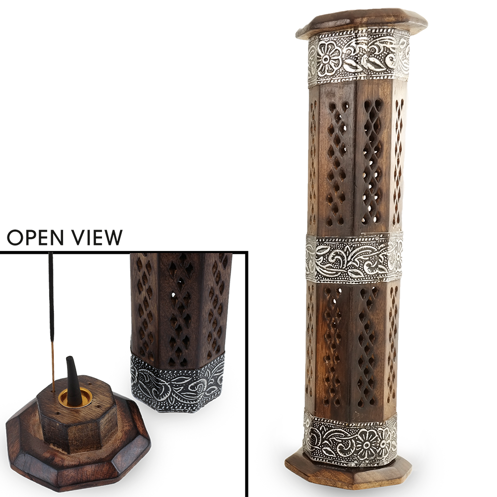 Wooden Tower Intense Stick Holder