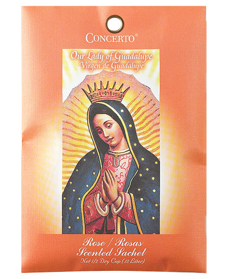 Patron Saints - Our Lady of Guadalupe Sachets Incense