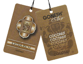 Hanging Air Freshener - Coconut
