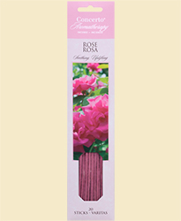 Concerto Aromatherapy - Incense Sticks Rose