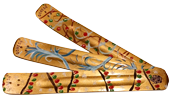 Hand Painted Incense Holders - Christmas