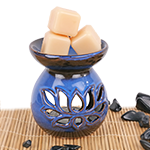 Wildflower Ceramic Oil Warmer