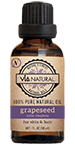 Via Natural®- 100% Pure Natural Oil- Grapeseed