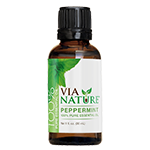 Via Nature®- 100% Essential Oil- Peppermint