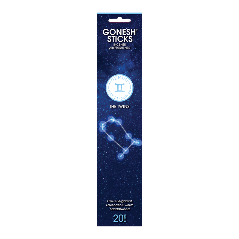 Zodiac Collection - Gemini Incense