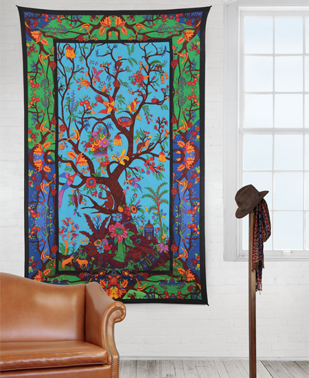 3D Tree of Life Tapestry
