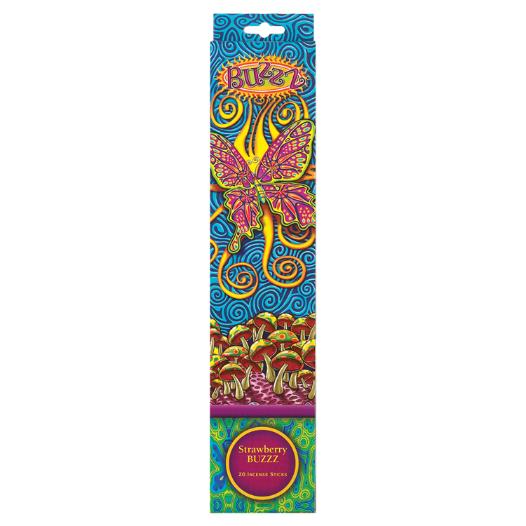 strawberry buzzz incense