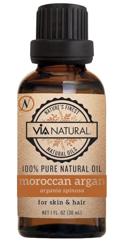 Via Natural®- 100% Pure Natural Oil- Moroccan Argan