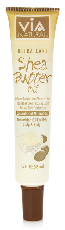 Via Natural®- Ultra Care Oil- Shea Butter