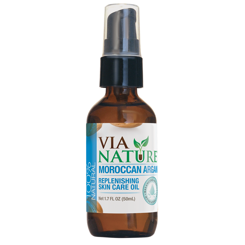 Via Nature®- 100% Natural Specialty Skin Care Oil- Moroccan Argan